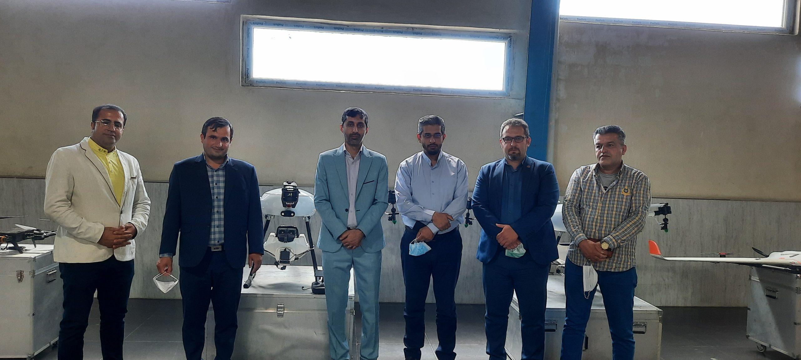 حضور مدیران سازمان نظام مهندسی کشاورزی کشور در کارخانه فرابرد